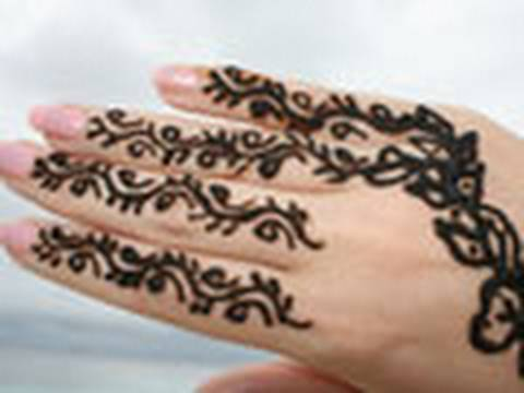 traditionell henna tattoo youtube. Black Bedroom Furniture Sets. Home Design Ideas