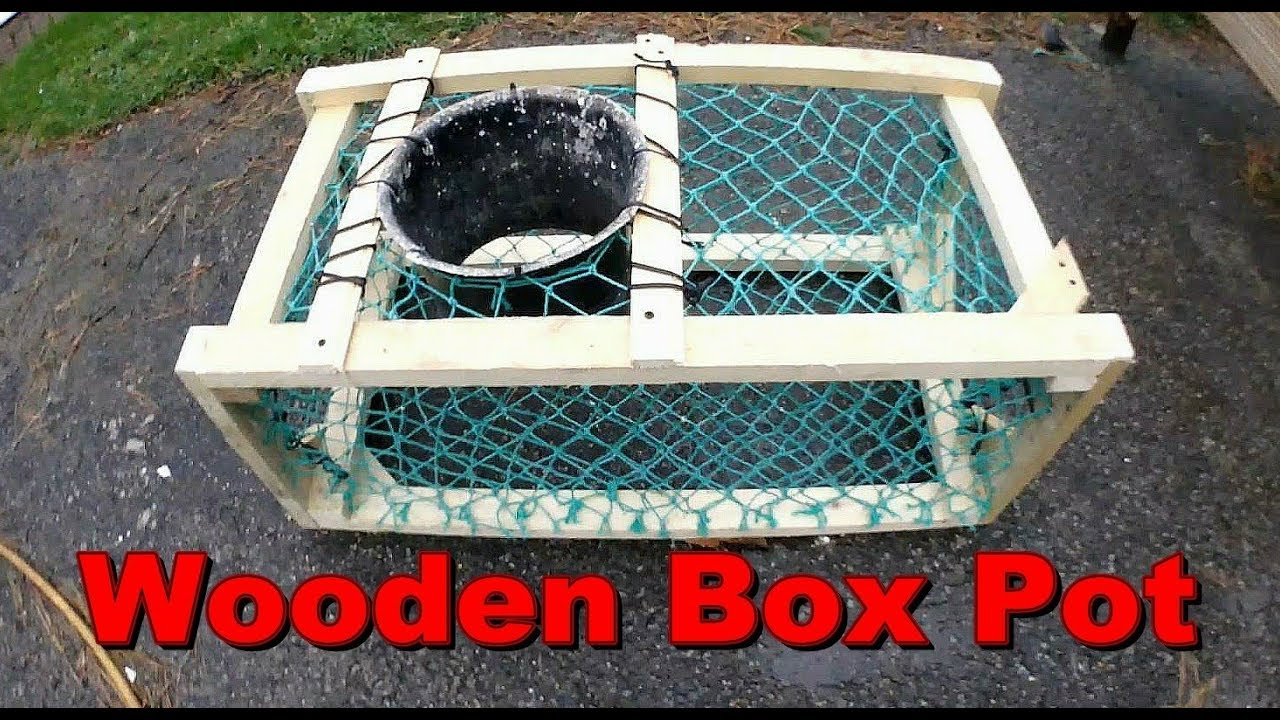 How To Make A Wooden Crab Pot Lobster Trap Fast Cheap Fishing Update