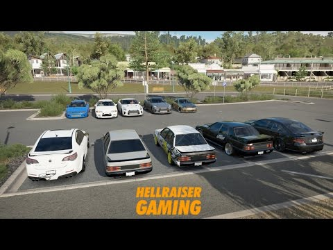 Forza Horizon 3 Australian Vs Japanese Car Show, Tune Battles, Street Races, Train Attack And More!