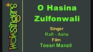O Hasina Zulfonwali - Hindi Karaoke - Wow Singers
