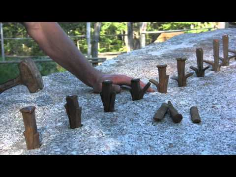 Thumbnail: Cutting Stone At The Deer Isle Hostel