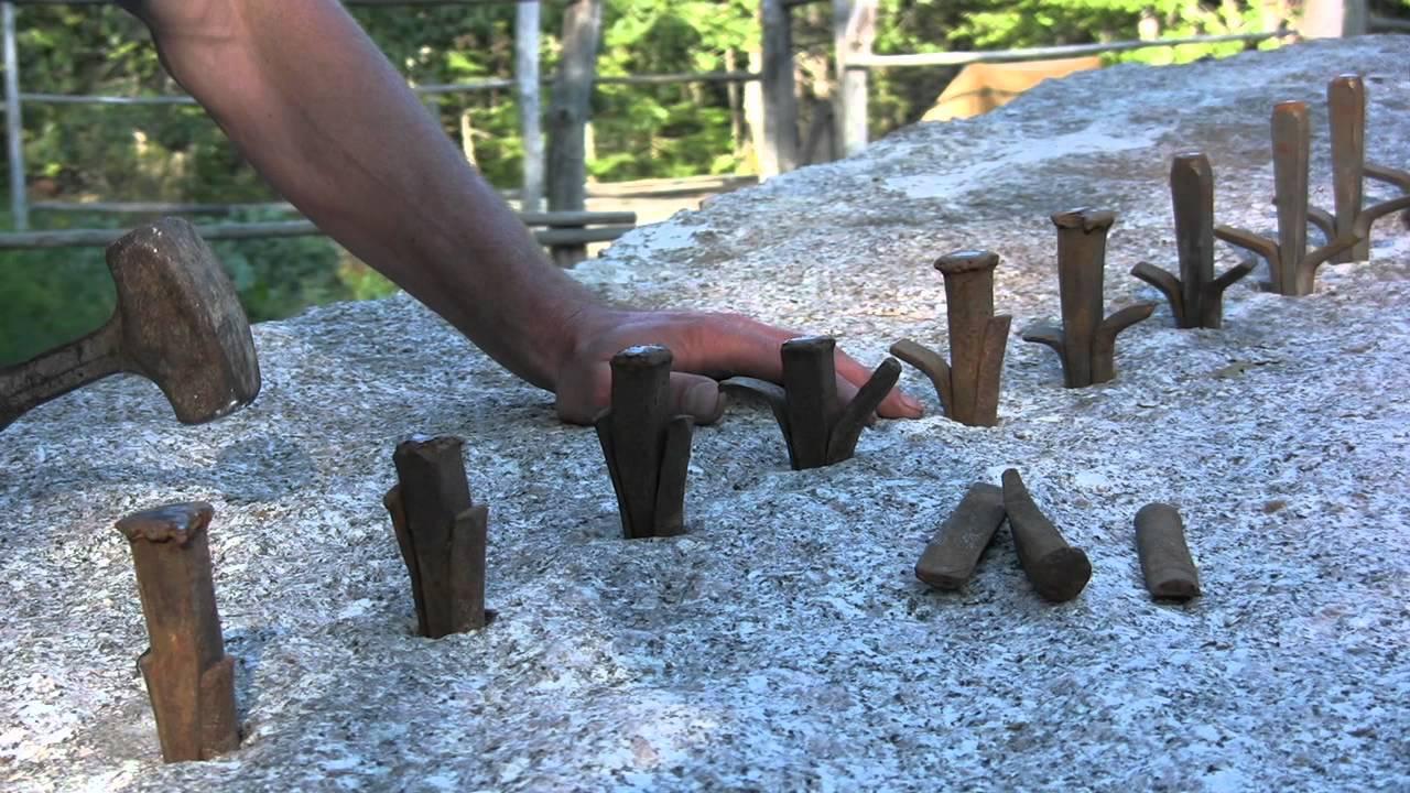 06dfa60632dbd Cutting Stone At The Deer Isle Hostel - YouTube