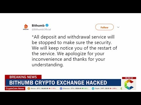 Breaking News: Bithumb Crypto Exchange Hacked
