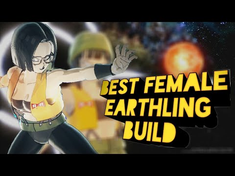 Best Female earthling build - Dragon ball xenoverse 2