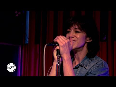 Charlotte Gainsbourg performing