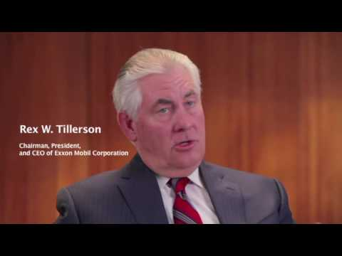 Rex Tillerson Biography in short and Best Speeches