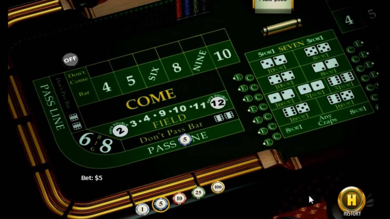 Come Bet In Craps