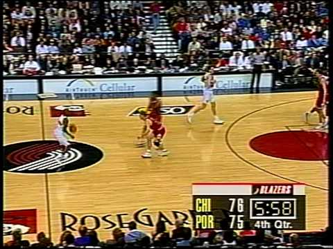 MICHAEL JORDAN: 36 pts vs Portland Trail Blazers (1997)