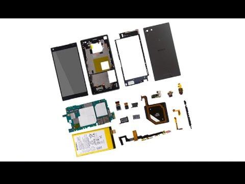 Sony Xperia Z5 Compact Teardown/Disassembly