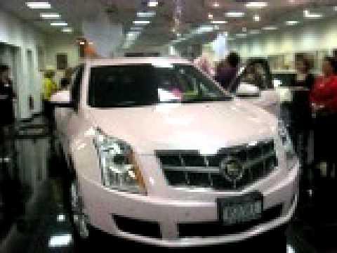 Pink Mary Kay Srx Cadillac Youtube