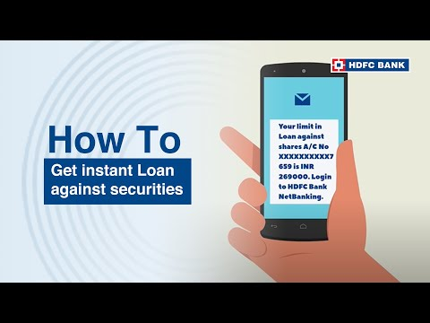 HDFC Bank Instant Loan Against Securities