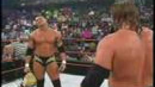 RAW 2004 - Triple H calls out Randy Orton