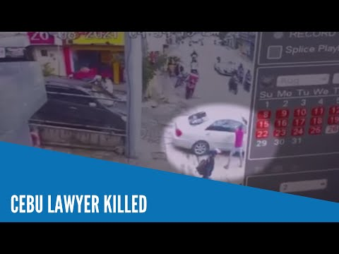 Cebu lawyer shot dead