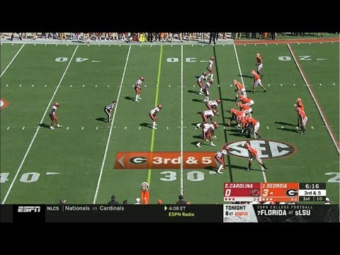 Georgia vs South Carolina Full Game HD | College Football Week 7 | 10/12/2019 from YouTube · Duration:  2 hours 47 minutes 35 seconds