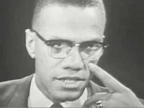 Malcolm X, PBS interview with Kenneth Clark, 1963