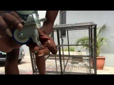 DIY: Setting up my dog cage