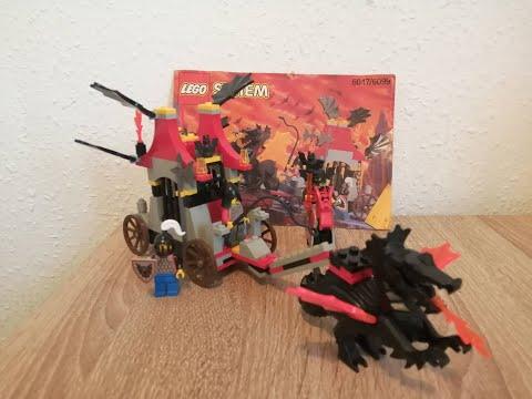 Heti videó: 20# Lego Castle -6047 Prison Transport