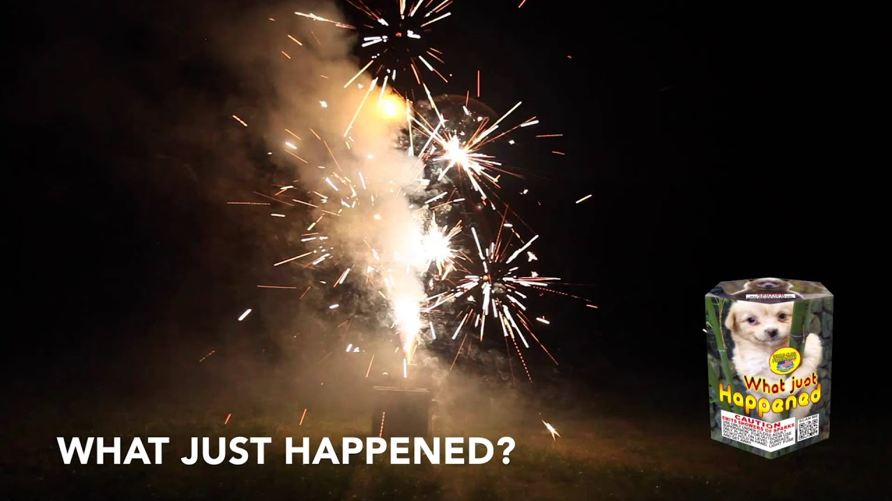 WHAT JUST HAPPENED - FOUNTAIN - WORLD CLASS FIREWORKS ...