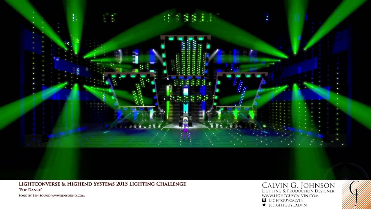 LIGHTCONVERSE AND HIGH END LIGHTING CHALLENGE (Light Guy Calvin)