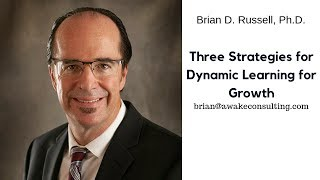 3 Strategies for Dynamic Learning for Growth