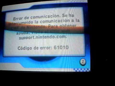 MKW Error Code 61010