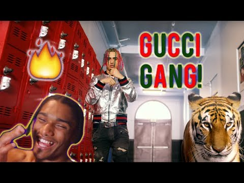 Download Youtube: Lil Pump - Gucci Gang | MUSIC VIDEO [REACTION]