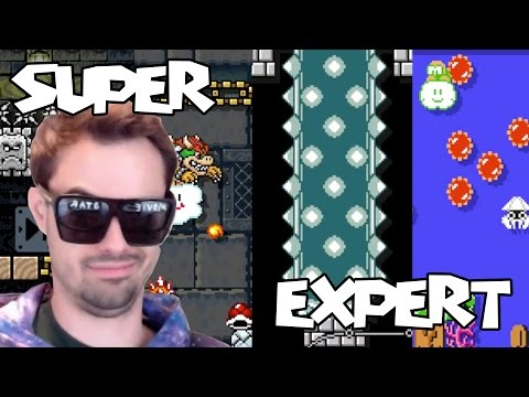 Mario Maker - Believe You Can Do It (Cause You Can Do It) (w/ Science Rant) | Super Expert #15