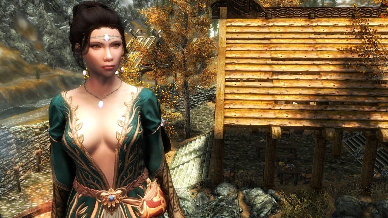 Skyrim Special Edition Xbox One: Part 13 – Ashara Dimonized Dress and  Jewelry