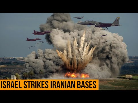 Iran Rattled as Israel Repeatedly bombed Iranian military bases