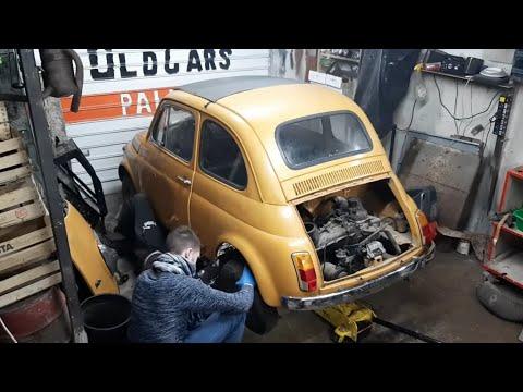 🔧Smontare Motore E Cambio Fiat 500 D'epoca 🔧(fiat 126) 495cc 595cc 650cc