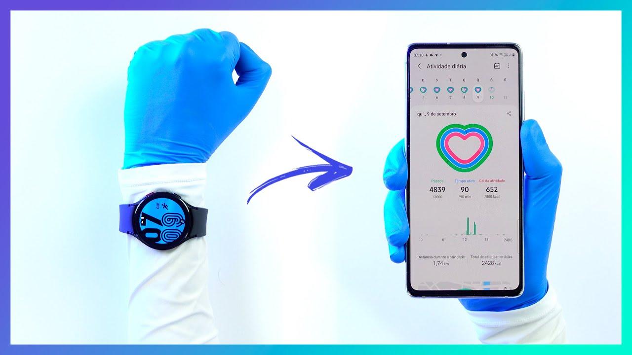 🔵 Análise Galaxy Watch 4   Como é o NOVO smartwatch da Samsung?