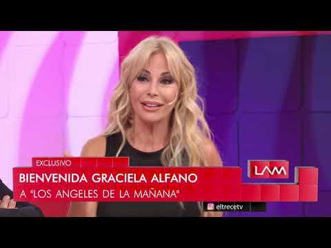 Bienvenida Graciela Alfano la nueva ángelita de LAM