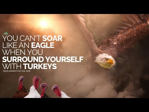 You Can't Soar Like An Eagle When You Surround Yourself With Turkeys - Motivational Speech