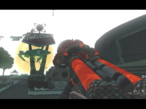 "NUKETOWN 2025 ZOMBIES ""MOAB"" EASTER EGG! Call of Duty Zombies NUK37OWN Mod Custom Map Gameplay"