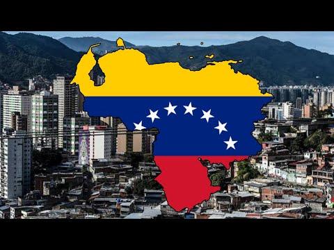 Venezuela - 🏴Flag Map Speed Art✏️