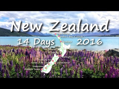 New Zealand Trip In 14 Days (2016.12)