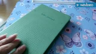 Review bulletjournal and travel notebook from the flying tiger.