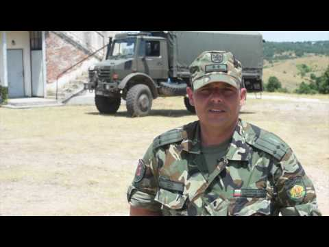 U.S. and Bulgarian Soldiers Train Together in Bulgaria