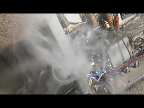 Smoking Power Transformer