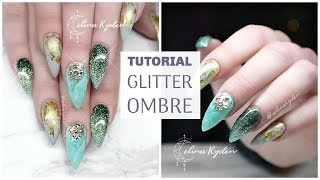 connectYoutube - TUTORIAL | GLITTER OMBRE | GEL NAILS