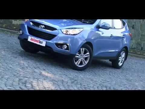 Hyundai ix35 GDi TopSpeed Test