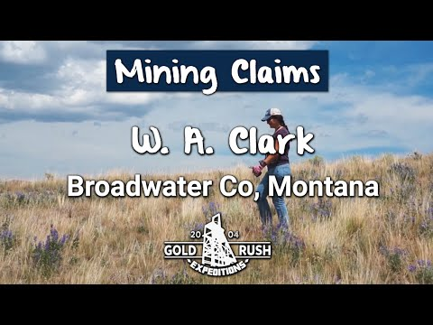 Historic W. A. Clark Mining Claim - Montana - 2016