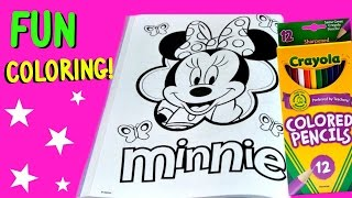 Video Minnie Mouse Coloring Pages Disney Jr Mickey Mouse Coloring Book - Fun Kids Coloring Video download MP3, 3GP, MP4, WEBM, AVI, FLV Juli 2018