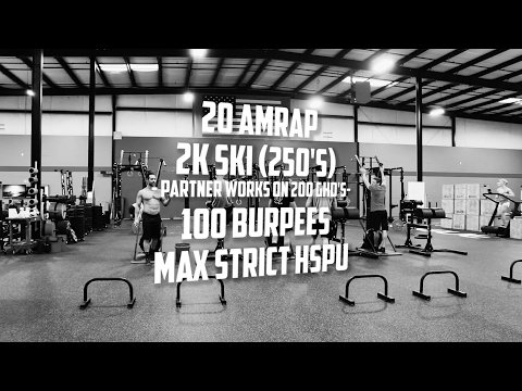 20 Minute AMRAP - Froning, Hewett, Hunsucker, Strohm