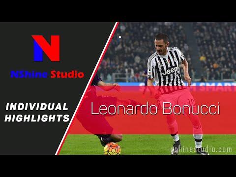 LEONARDO BONUCCI skills, tackles, assists and goals - Juventus 2015/16 | NShine Studio Product