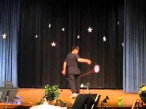 George Washington Middle School Talent Show 2010 Chinese Yoyo