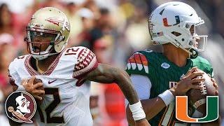 FSU vs. Miami: A Rivalry Renewed