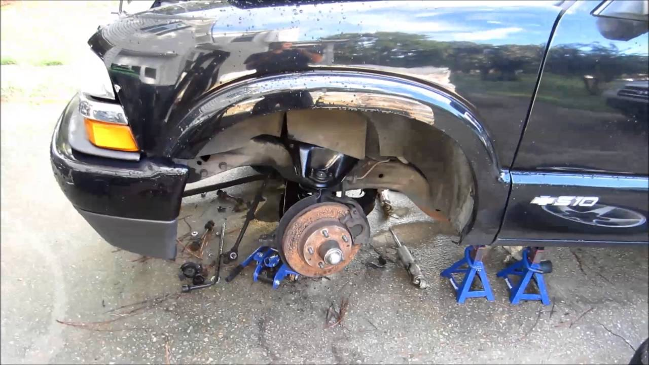 2002 s10 front suspension rebuild [ 1280 x 720 Pixel ]