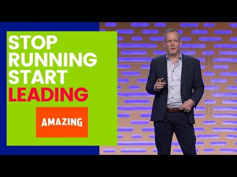 Stop Running Your Business And Start Leading It | Amazing Business Leadership