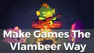 Make Games The Vlambeer Way - Resource Drop #3 [Game Design And Development]